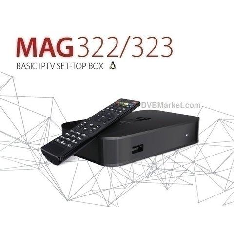 IPTV MAG 322W1 Infomir Wifi