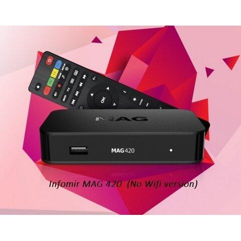 IPTV MAG 420 Infomir 4K Linux