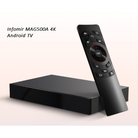 IPTV MAG500A Android Infomir 4K