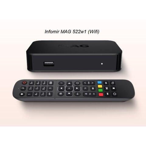 IPTV MAG522w1 Infomir 4K
