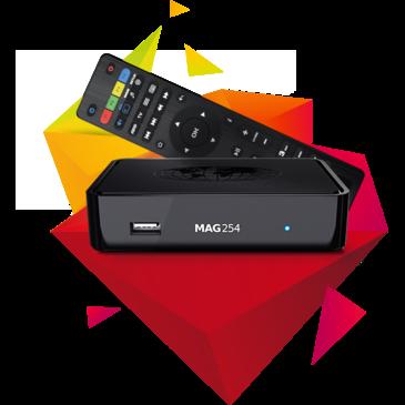 IPTV MAG 254 W2 Infomir