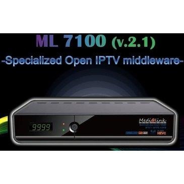 IPTV ML 7100 T2 HEVC MEDIALINK