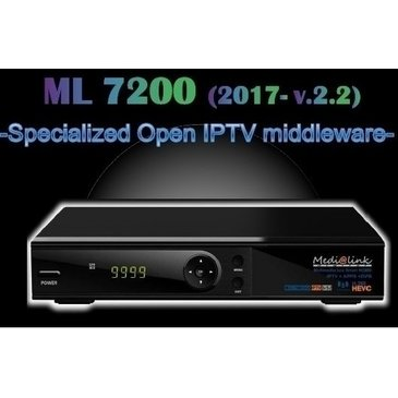 IPTV ML 7200 S2 HEVC MEDIALINK