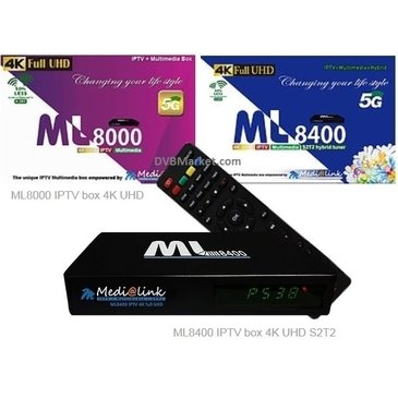 IPTV ML 8400 4K S2T2 Medialink